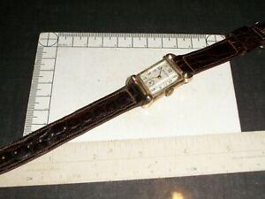 Swiss Bulova Model 7AA Antique Wristwatch