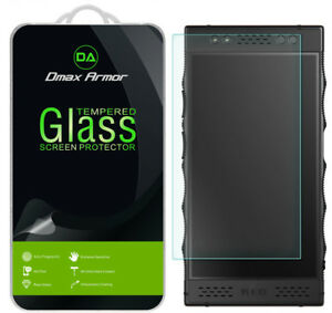 [2-Pack] Dmax Armor Tempered Glass Screen Protector for Red Hydrogen One