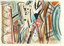 VEIT HOFMANN - Quixquekl - Farblithografie 1997
