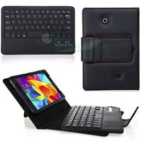 Custodia pelle tastiera removibile bluetooth nera pr Samsung Galaxy Tab 4 7 T230