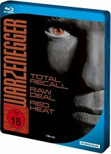 ARNOLD SCHWARZENEGGER STEEL EDITION (3 Blu-ray Discs, Steelbook) NEU+OVP