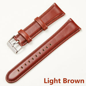 Watch Bands Cowhide Genuine Leather Wristwatch Straps Parts For Gear S3 18-24mm
