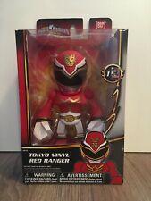 2013 Ban Dai Power Rangers Megaforce Tokyo Vinyl Red Ranger Action Figure