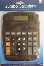 A* Stationery Solar Power Jumbo Desk Top Calculator with Big Pop Up Display