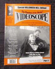 1995 VIDEOSCOPE Movie Video Magazine #16 VF Linda Blair Halloween Hell Special