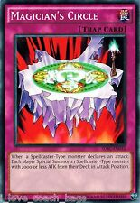 3 X Magician's Circle - SDSC-EN035 - Common NM Spellcaster's Command Yugioh