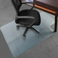 Rectangle PVC Home Office Chair Floor Mat Studded Back for Wood /Pile Carpet WW