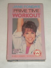 JANE FONDA PRIME TIME WORKOUT BETA BETAMAX TAPE VIDEO TAPE RARE KARL 84 NOT VHS