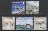 Guernsey - 2004, Memories of WWII, 2nd series set - MNH - SG 1027/31