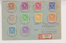 Bizone/AM-Post, Mi. 26 u.a., R-Kassel - Ottobrunn, 20.6.46