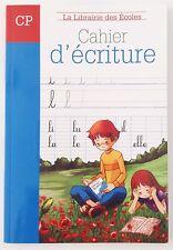 La Librairie Des École /CP/ Cahier D'écriture