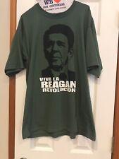 Ronald Regan Viva La Reagan Revolucion  Size XL