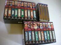 HUGE Lot of 24 Early Western VHS Tapes John Wayne Gene Autry Roy Rogers