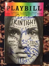 Idina Menzel, Cast, Director And Playwright Signed Skintight 2018 Pride Playbill