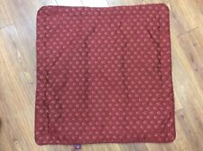 """BILTMORE HOME PILLOW COVER RUST 26"""" SQUARE EMBROIDERED ZIPPER CLOSURE GORGEOUS!"""