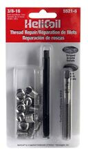 """New! 5521-6 HELICOIL Complete Thread Repair Kit 3/8"""" -16 x .562 12 Inserts Heli"""