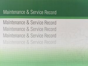 Volkswagen VW Generic Replacement Car Service History Book New Handbook Blank G