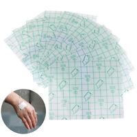 10Pcs imperméable à l'eau adhésif transparent enroulé pansement plâtreDNfw