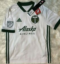 NWT Adidas MLS 2018/2019 Portland Timbers Youth Large Jersey