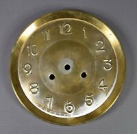 altes ZIFFERBLATT D 205 Uhrenzifferblatt Regulator Wanduhr Uhr clock dial