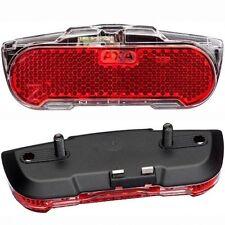 AXA BASTA LED Rücklicht SLIM STEADY für Gepäckträgermontage 80mm mit Standlicht