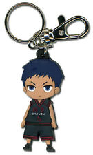 **Legit** Kuroko No Basuke Basketball Authentic PVC Keychain Daiki Aomine #36818