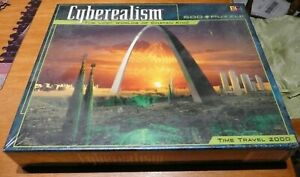 Cyberealism The Lost Worlds of Chayan Khoi Time Travel 2000  500 Piece Puzzle