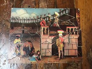 """""""Our Gang"""" Jigsaw Puzzle Gladiator Wilder Mfg. Co. No 412 Roman Cathedral No Box"""