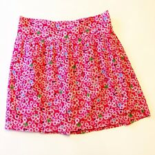 OLD NAVY Women's Pink Floral 100% Cotton Mini Skirt Juniors Size XS