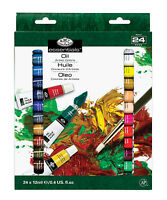 24pc OIL PAINT Tubes SET Royal Langnickel Painting