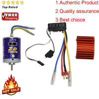 540 Brushed Motor + 45A ESC for 1/10 Scale RC Buggy Truck Crawler Car