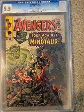 Avengers #17 CGC 5.5