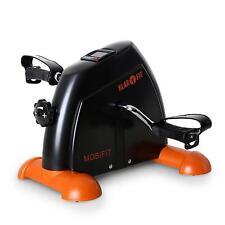 Klarfit Mini Heimtrainer Reha Hand Fahrrad Fat Burner Slim Fitness Gerät orange