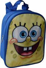 "Sponge Bob Toddler Backpack Small School Bookbag Preschool Boys Kids 10"" School"