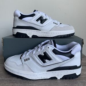 New Balance 550 White/Black - Brand New - Size 7-9.5 - 100% Authentic - BB550LM1