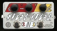 Z.VEX ZVex Effects Pedal, Vexter Super Duper 2 on 1, Brand New, Free Shipping