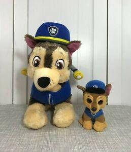 💜 Build A Bear Paw Patrol Chase German Shepherd Brown Dog Plush Set w/ Outfit
