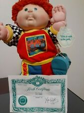 Certified Cabbage Patch Kid Kim Conway 1990 Appalachian Artworks W Birth Certifi