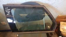 2008 CITROEN C4 GRAND PICASSO REAR LEFT PASSENGER NEAR NSR QUARTER GLASS WINDOW