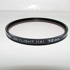 Used Kenko Skylight (1A) 72mm Lens Filter Made in Japan S232918