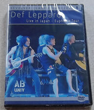 DEF LEPPARD Live in Japan Euphoria Tour SOUTH AFRICA Cat# REVDVD586