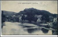 Bad Kreuznach Rheinland-Pfalz Postkarte 1925 Partie an der Nahe Brücke Fluss
