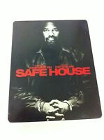 SAFE HOUSE - BLU-RAY + DVD - STEELBOOK - DENZEL WASHINGTON RYAN REYNOLDS - AM