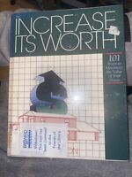 Increase It's Worth - 1st Ed. 1st Printing HC Book 1989, Ex Library VG