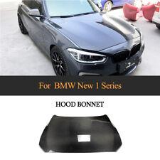 Carbon Fiber Front Bonnet Engine Hood Cover For BMW F20 1 Series Hatchback 12-18