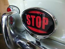 STOP light sign illuminated sign brake light for Porsche VW Hotrod Ford AAC119
