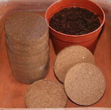 10 Stk. Kokos Quelltabs 8 cm Cocopeat 19005 Aussaatsubstrat ähnl. Jiffy
