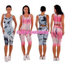 Woman Sexy xy Sleeveless  Club Print Jumpsuit & Rompers Bodycon Short Playsuit
