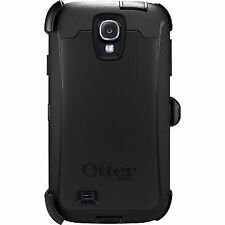 Genuine OTTERBOX Defender Series Samsung Galaxy S4 Black With Belt Clip B50