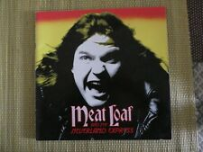 Meatloaf. 3 x tour programmes + ticket stubs. 1985,1987 and 1988